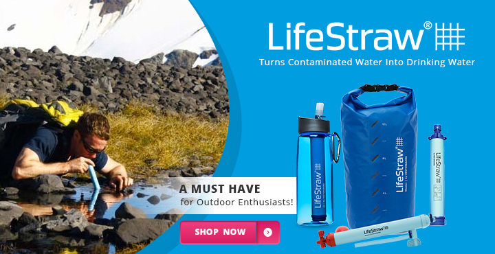 LifeStraw Turns Contaminated Water Into Drinking Water