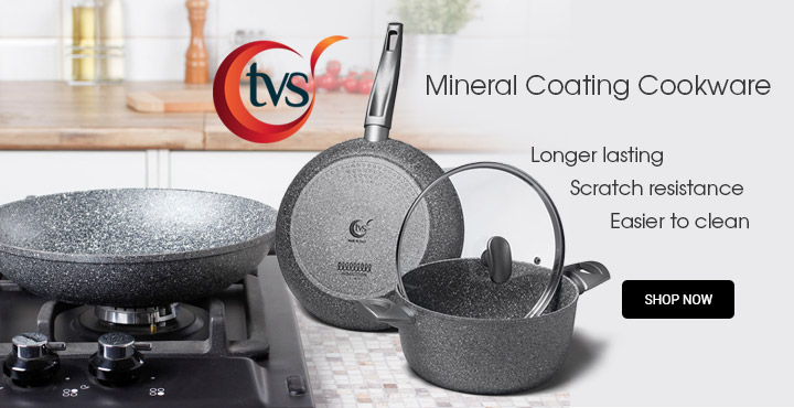 TVS Mineral Coating Cookware