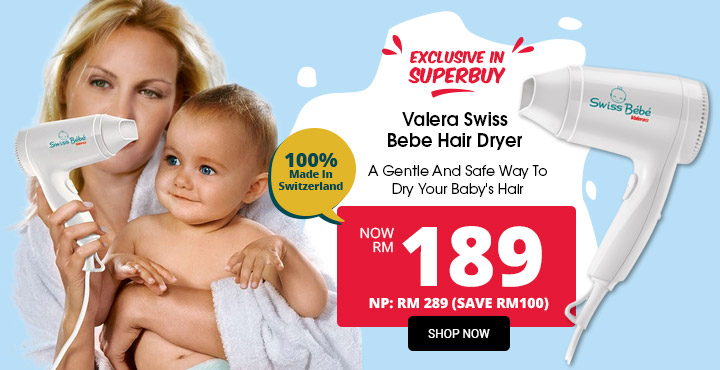 Valera Swiss Bebe Hair Dryer