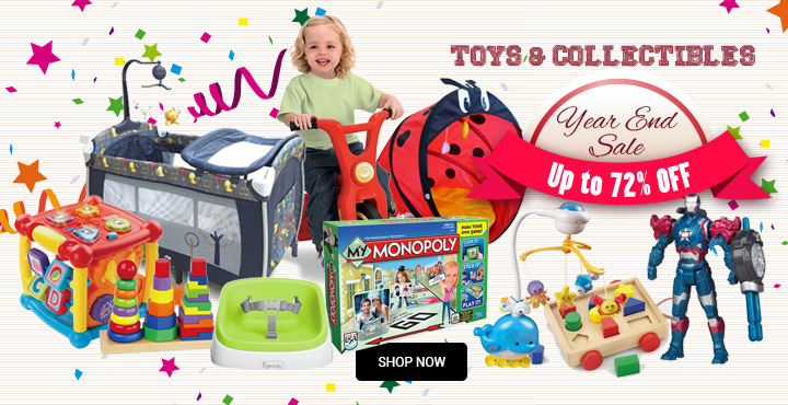 Up to 72% Off Toys & Collectibles