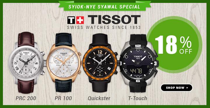 Tissot Syiok Nye Syawal Special