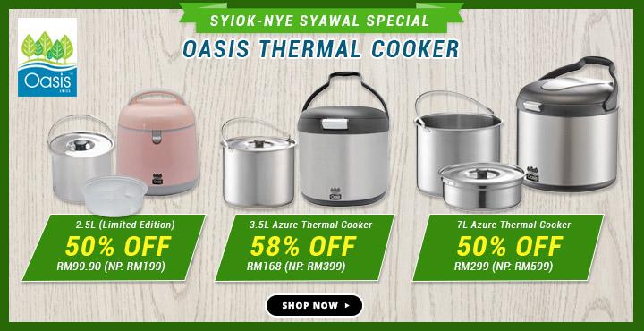 Oasis Thermal Cooker Syiok Nye Syawal Special