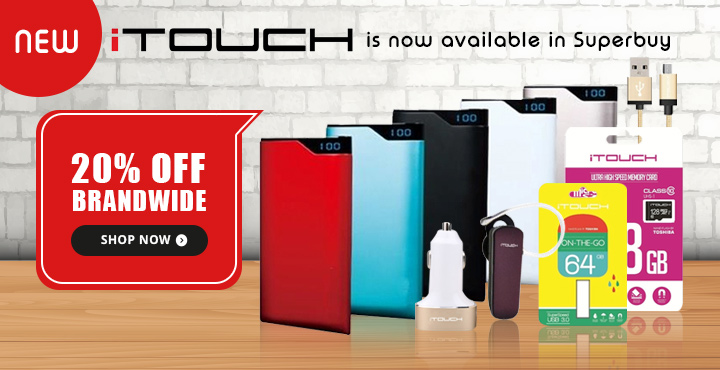 0% OFF NEW iTouch Now in Superbuy