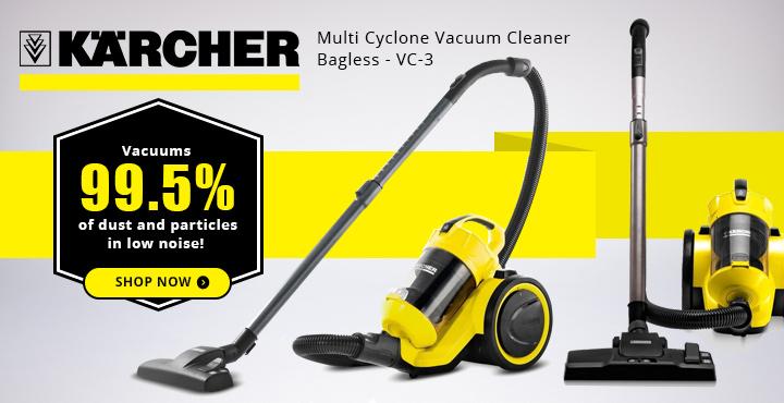 Karcher Multi Cyclone Vacuum Cleaner Bagless - VC-3