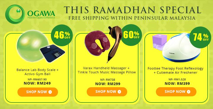 Ogawa Ramadhan Special Free Shipping within Peninsular Malaysia