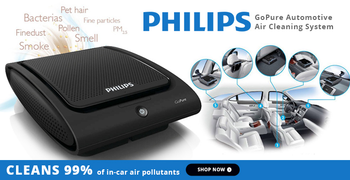 Philips GoPure Automotive Air Cleaning System