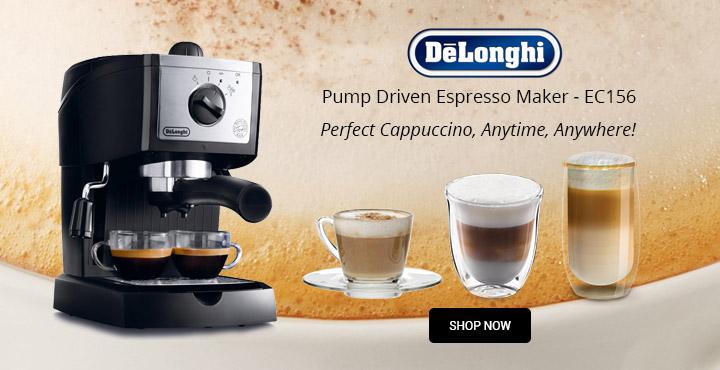 DeLonghi  Pump Driven Espresso Maker - EC156