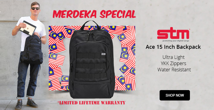 Merdeka Special  STM Ace 15 Inch Backpack