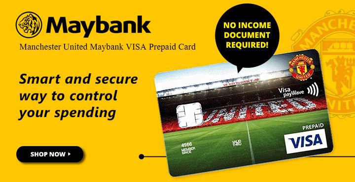 Manchester United Maybank VISA Prepaid Card