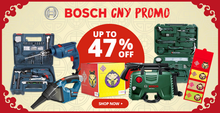 Up to 47% Off Bosch CNY Promo