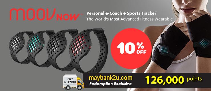 MOOV NOW Personal e-Coach + Sports Tracker