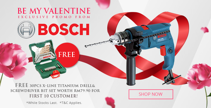Be My Valentine Exclusive Promo From Bosch