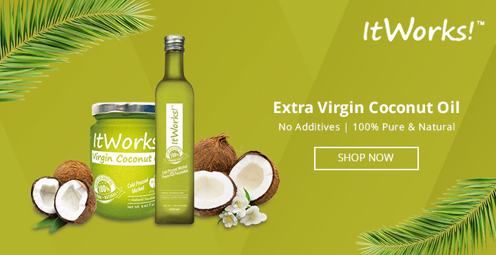 ItWorks Extra Virgin Coconut Oil