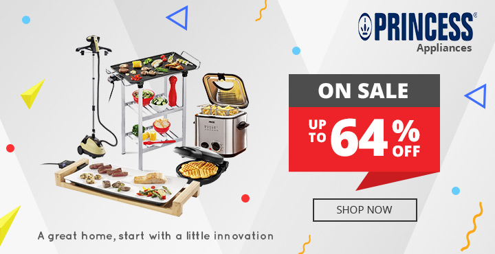 Up to 64% Off Princess Appliances